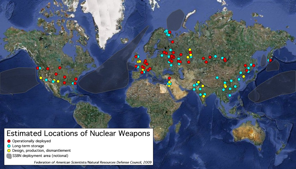 How Close Are You To a Nuclear Bomb Right Now?