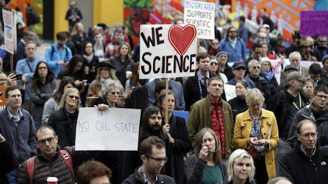 Why I'm raising money to march for science
