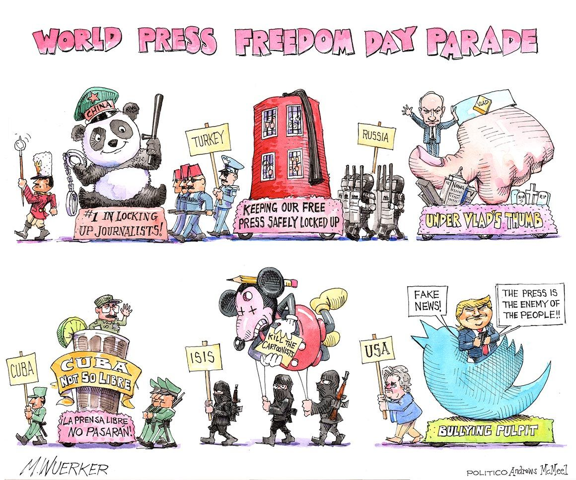Happy World Press Freedom Day?